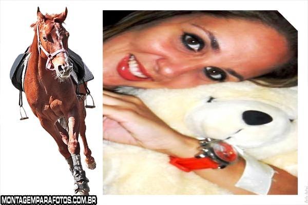 Moldura Cavalo de Corrida