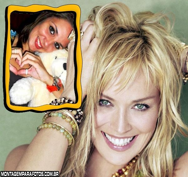 Moldura Sharon Stone