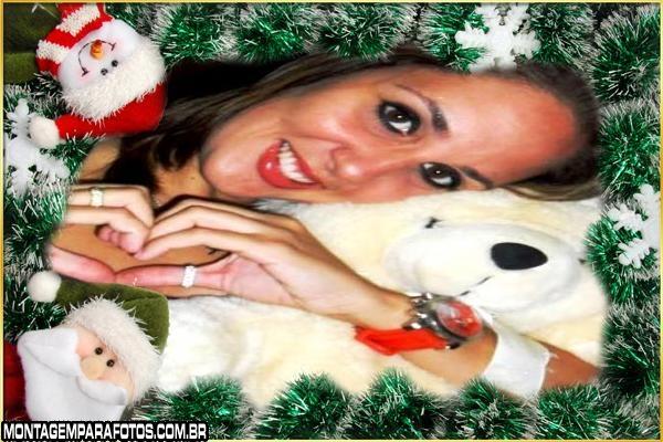 Moldura Bonequinho Pai Noel