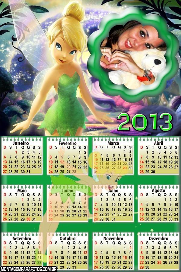 Calendário da Sininho 2013