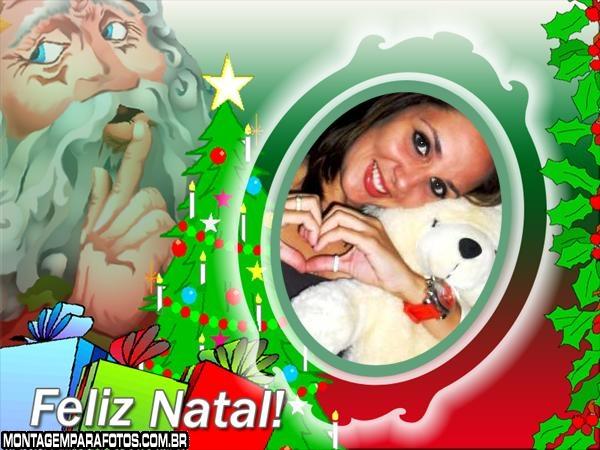 Papai Noel cheio de Presentes