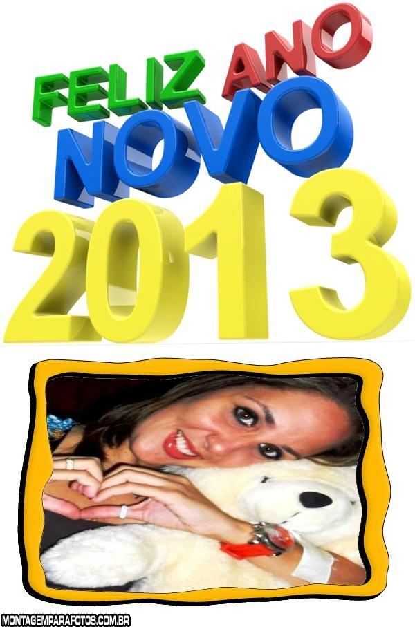 Moldura Feliz Ano Novo 2013