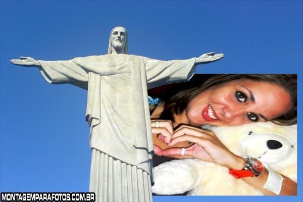 FotoMoldura Cristo Redentor