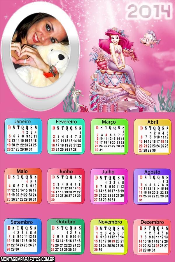 Fantasia Princesa Ariel 2014
