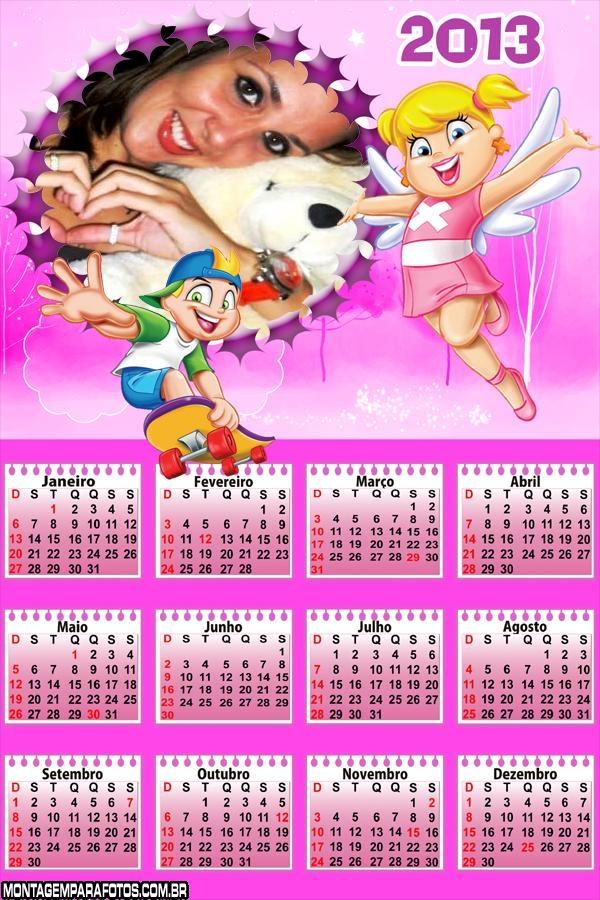 Calendário Xuxinha 2013
