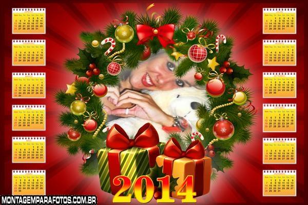 Guirlanda de Natal e Presentes