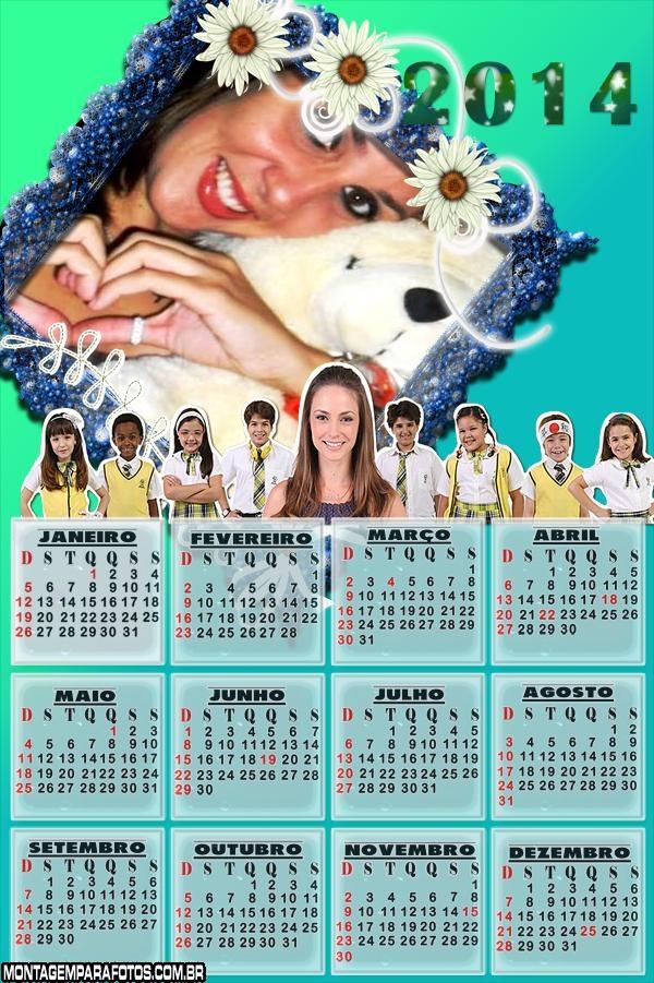 Carrossel Calendário 2014