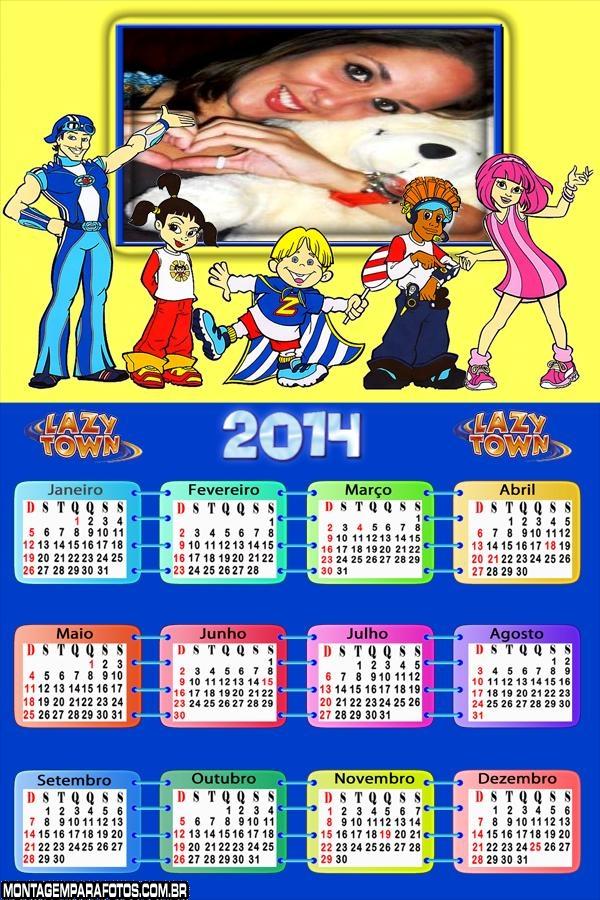 Fotomontagem Calendário 2014