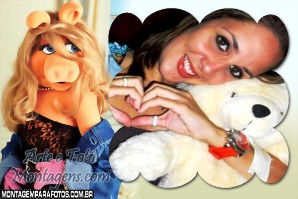 Moldura Muppet Babies