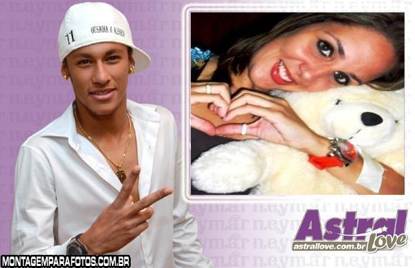 Moldura Neymar Astral Love