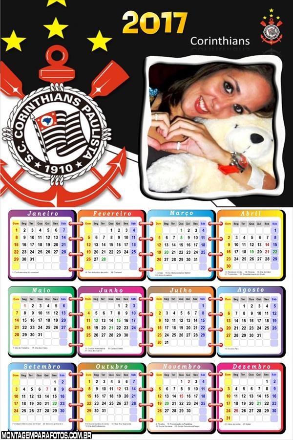 Calendário 2017 do Timão
