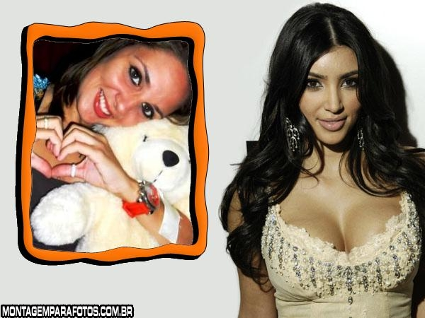 Moldura Kim Kardashian