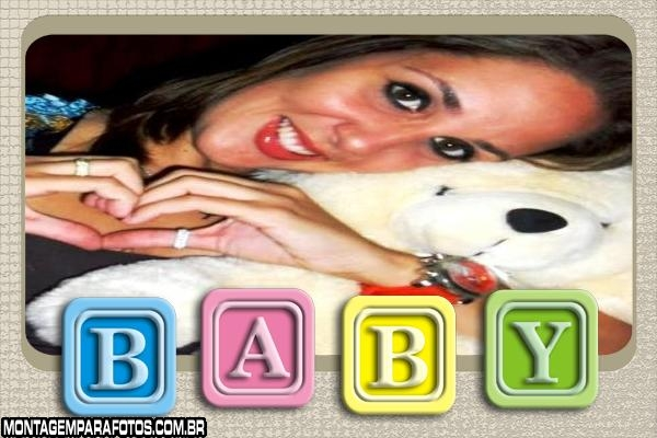 Moldura Bloquinhos Baby