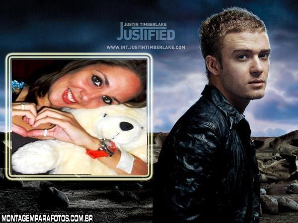 Moldura Cantor Justin Timberlake