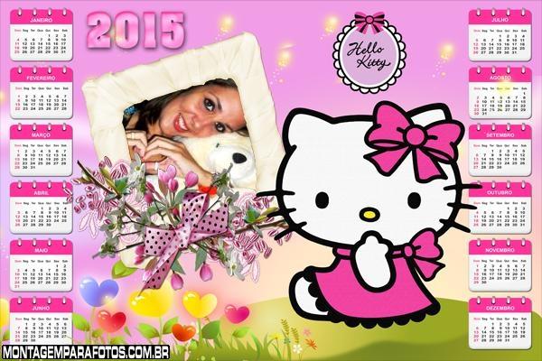 Calendário 2015 Gatinha Kitty