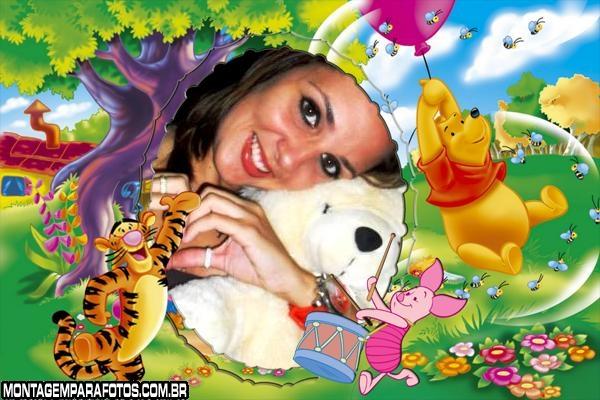 Moldura Bexiga do Pooh