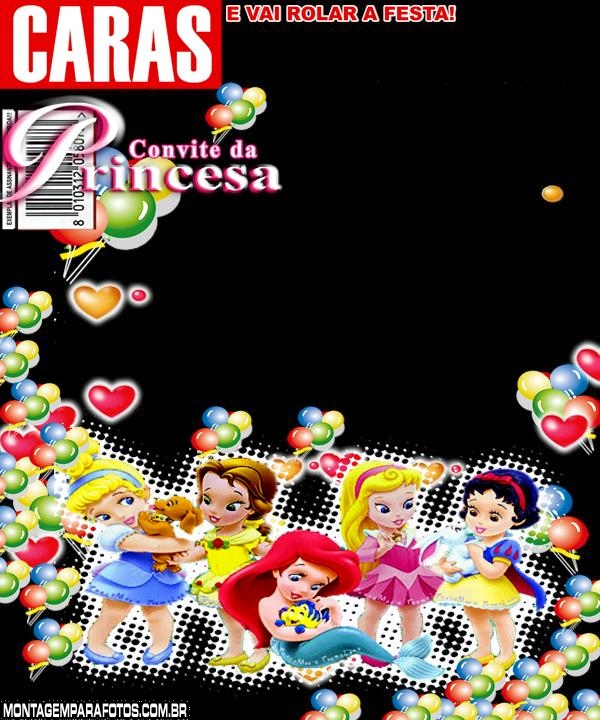 Convite Princesinha