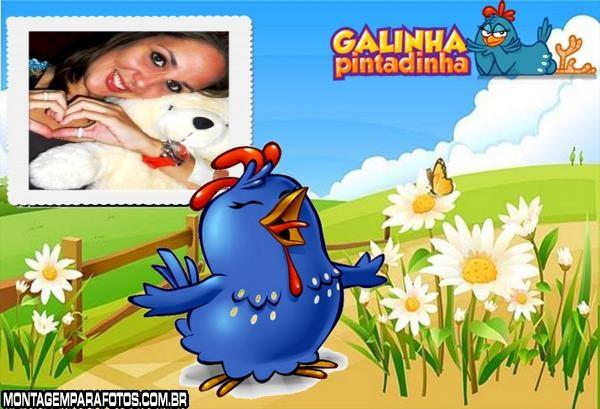 Moldura DVD Galinha Pintadinha