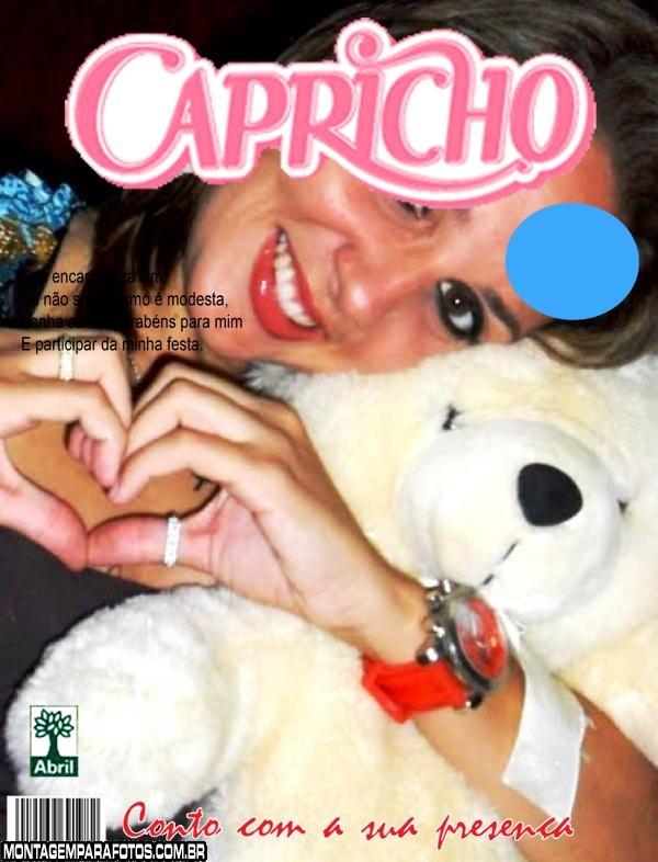 Convite de Aniversário Capricho