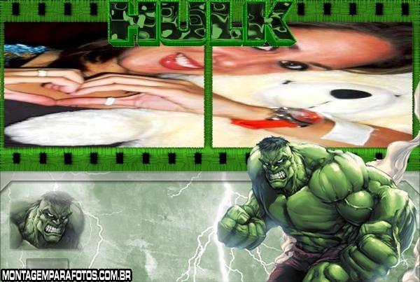 Moldura Gibi Hulk