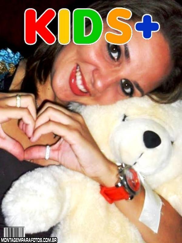Moldura Revista KIDS Mais
