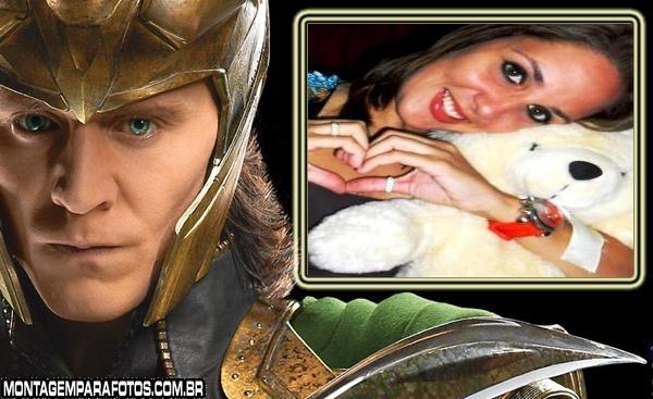 Moldura Loki Os Vingadores