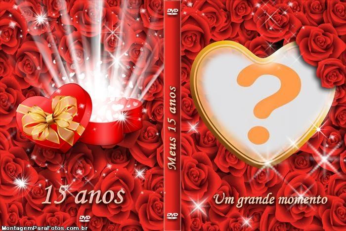 Capa DVD Aniversário de 15 Anos