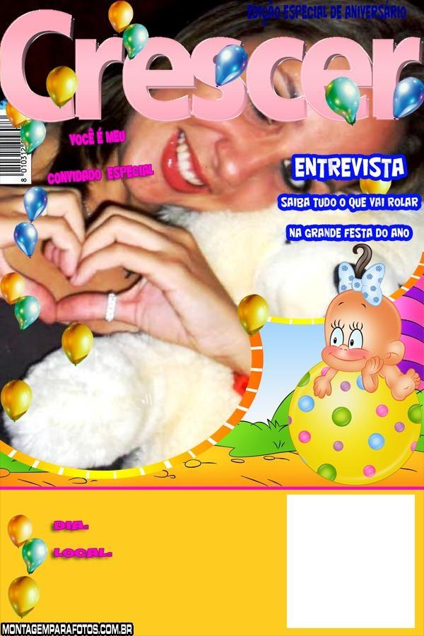 Convite Revista Crescer Bebê