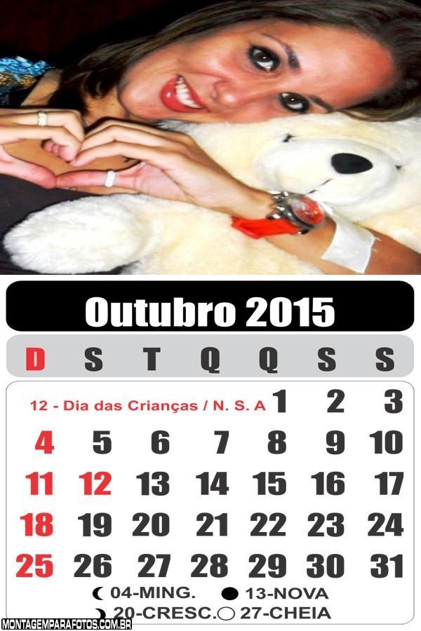 Calendário Outubro 2015