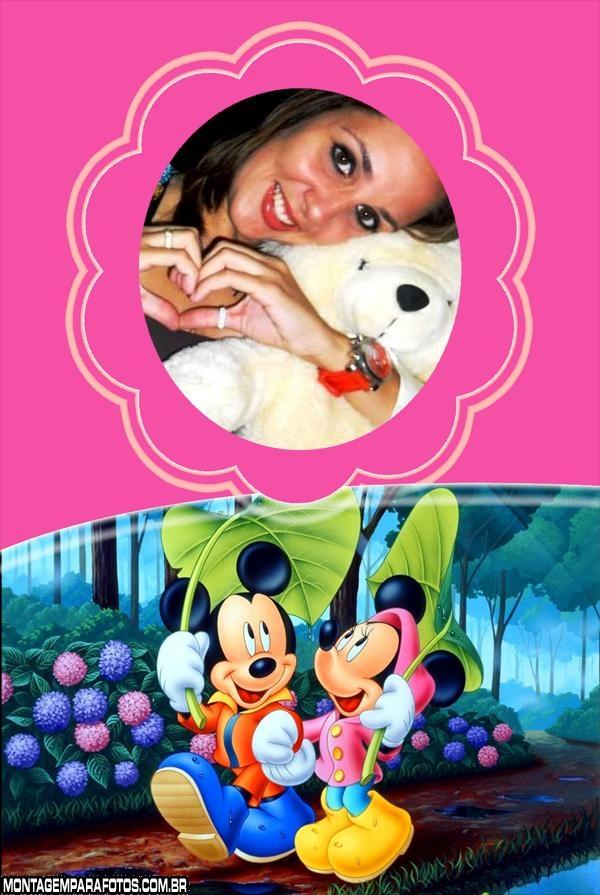 Mickey e Minie Passeando