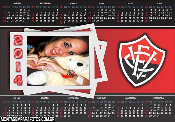 Calendário 2014 Vitória Time