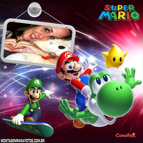 Moldura Super Mario