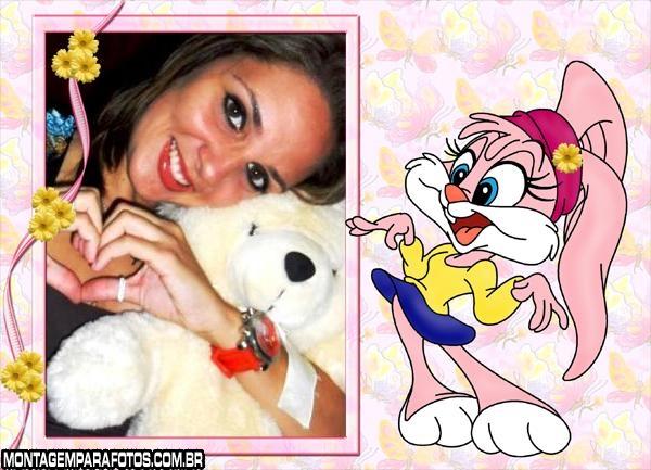 Moldura Coelha Looney Tunes