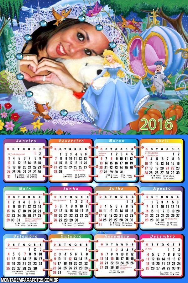 Calendário da Cinderela 2016