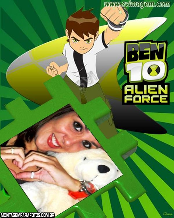 Moldura Ben 10 Alien Force