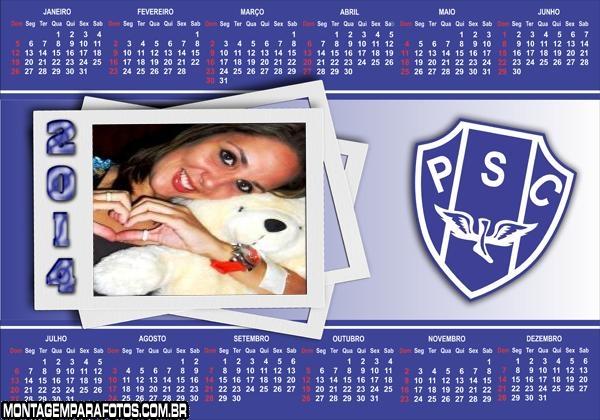 Calendário 2014 Paisandu