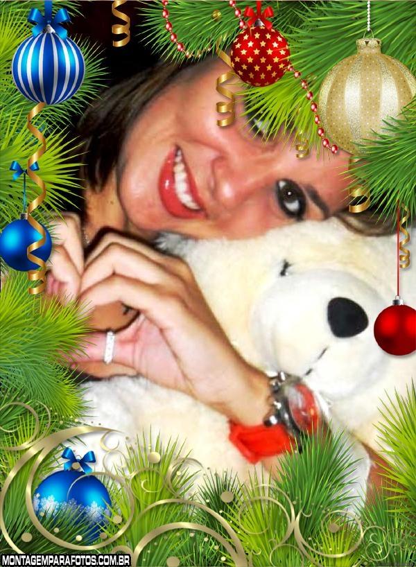Moldura Hoje é Natal