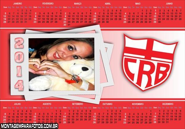 Calendário 2014 CRB