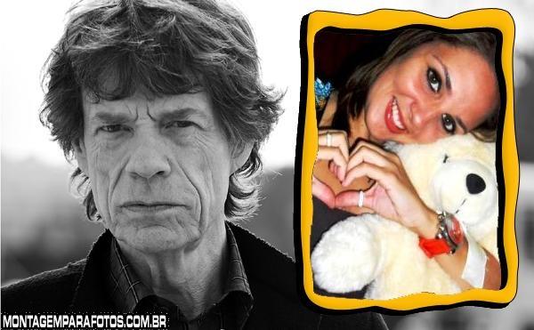 Moldura Mick Jagger