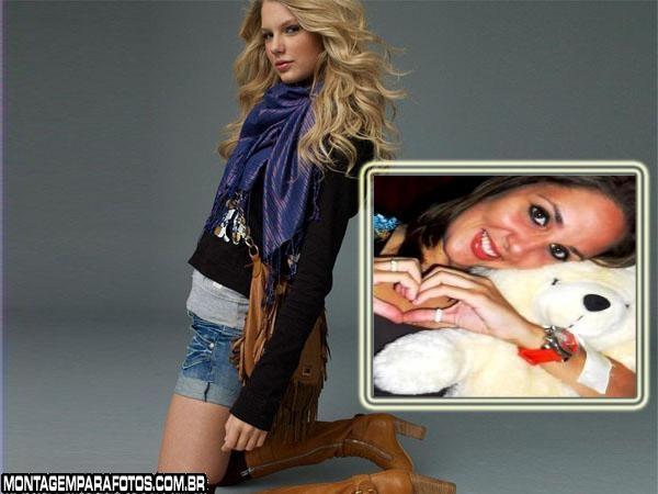 Moldura Taylor Swift Foto