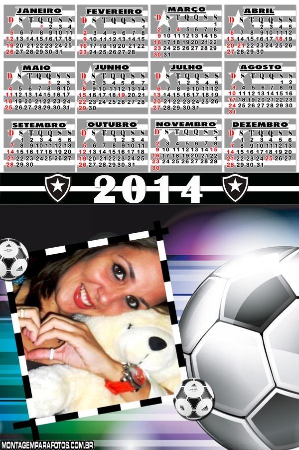 Calendário 2014 Botafogo