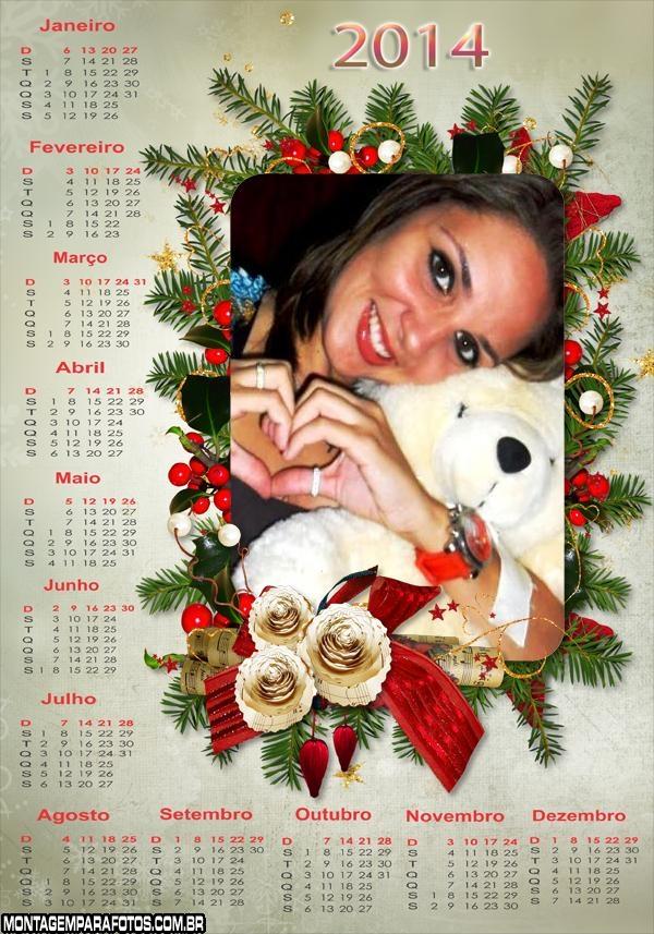 Calendário 2014 Natalino