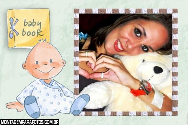 Baby Book Moldura