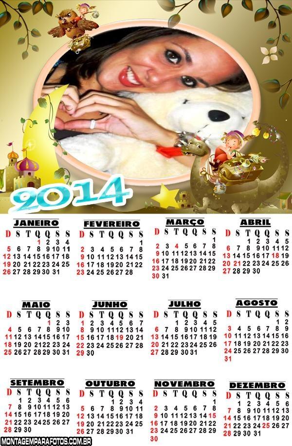 Calendário 2014 Online