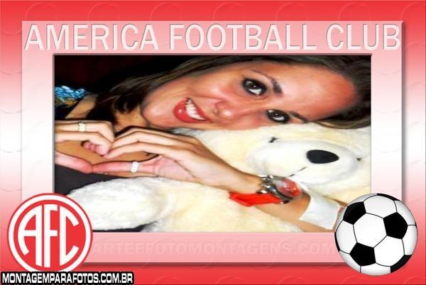 Moldura America Futebol Clube