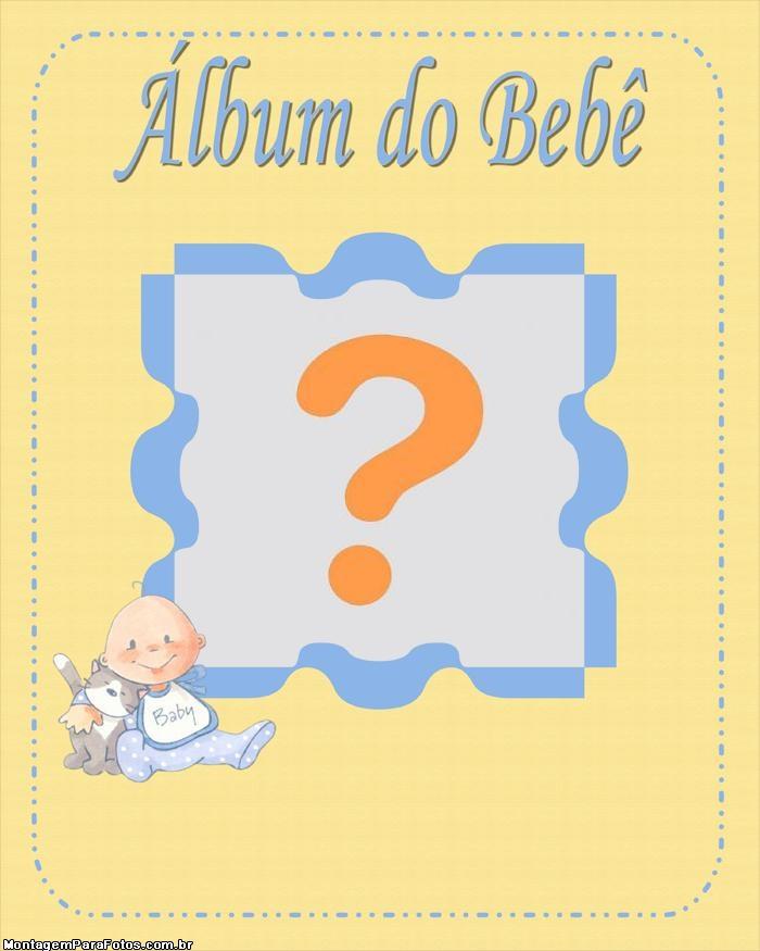 Moldura Álbum do Bebê