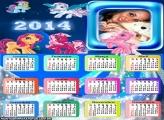 Calendário Poneys 2014