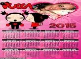 Calendário 2015 Pucca