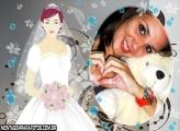 Moldura Noiva Tipo Princesa