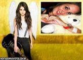 Moldura Selena Gomez Guitarra